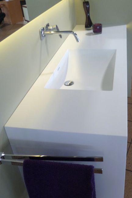 Waschbecken Corian corian im bad klocke